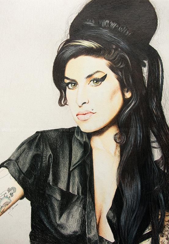 Amy Winehouse - Crayons de couleurs